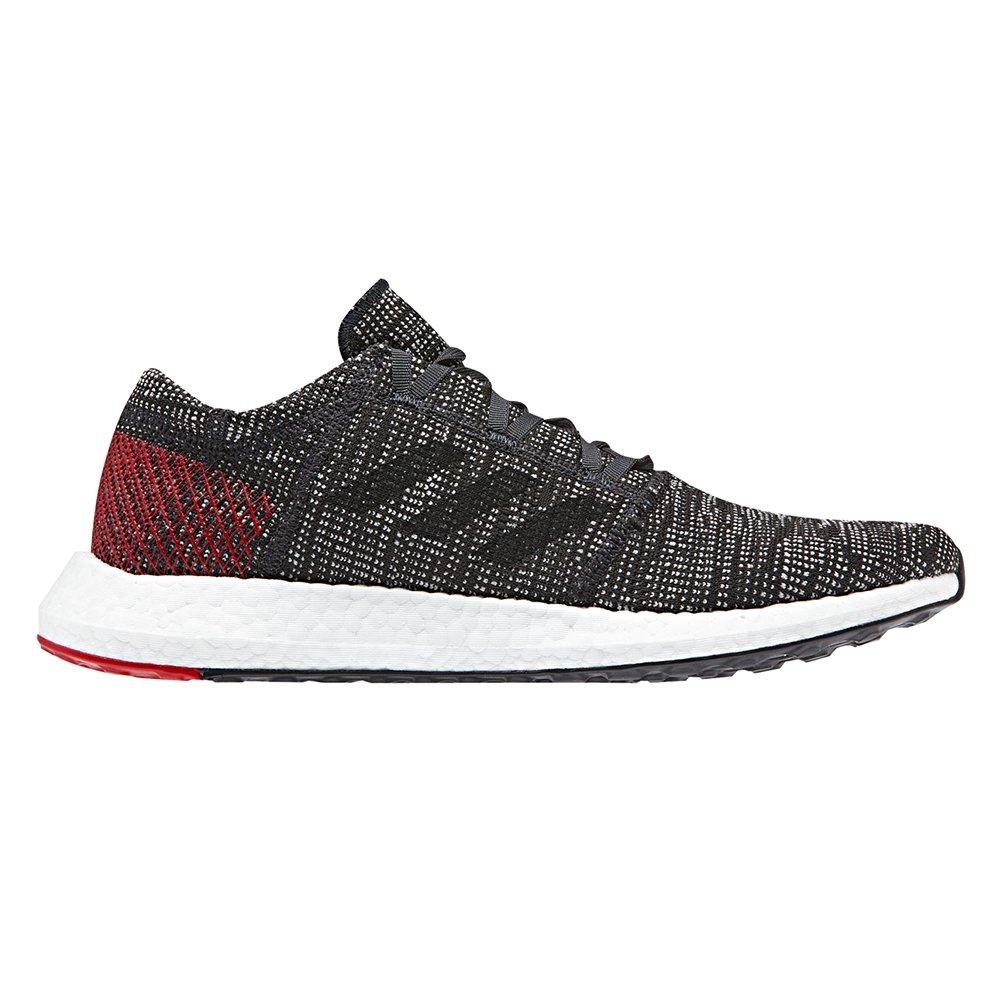 adidas Men's Pureboost Go Running Shoe B077XMNPH8 9 D(M) US|Carbon/Black/Power Red