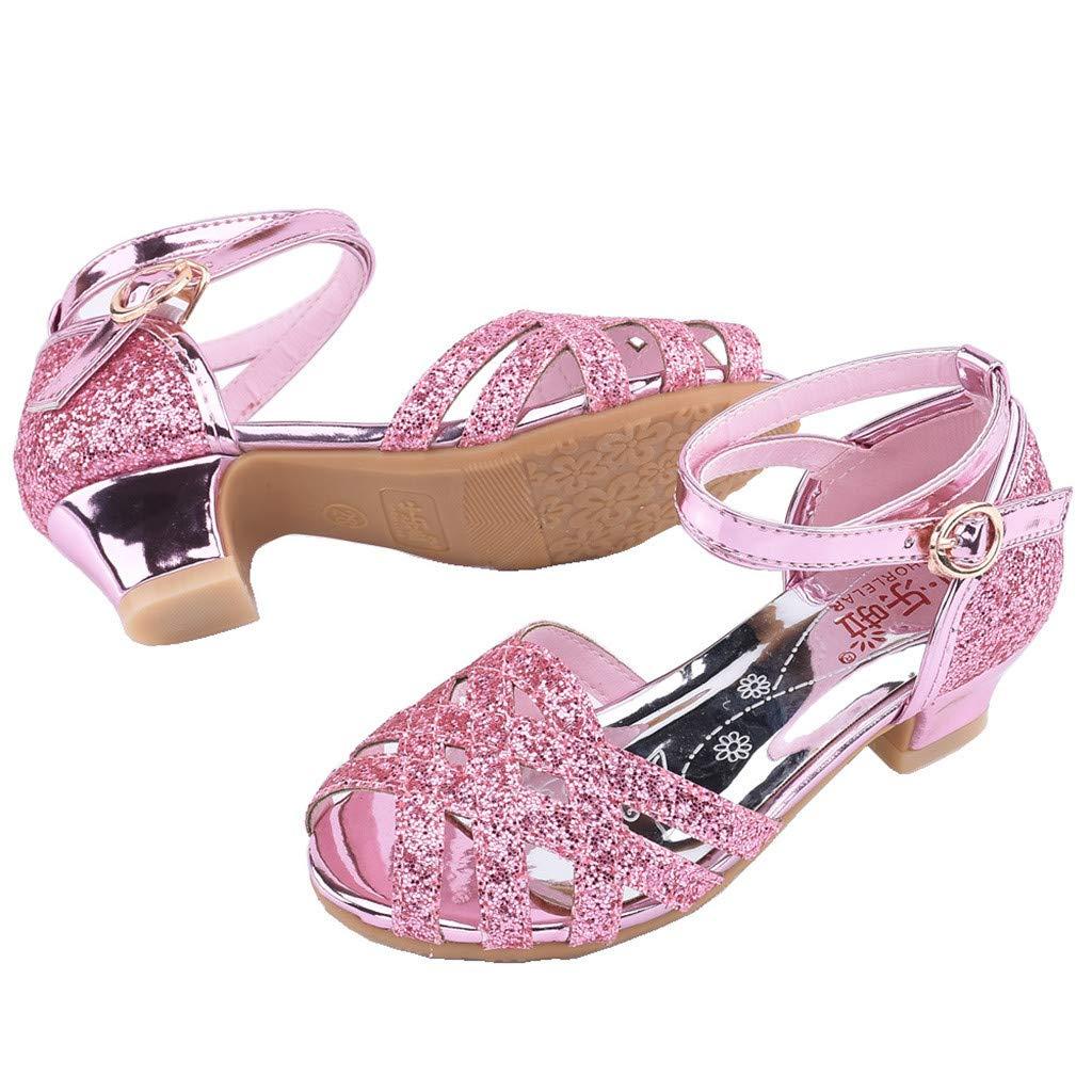 Scarpe da Ballo Latino Americano Bambina /& Ragazze Toddler Neonate Paillettes Bling Scarpe da Principessa Sandali Che Ballano