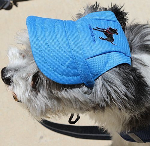 LoveWally Dog Outdoor PET Hat Blue ♦ Adjustable Authentic (Large) by LoveWally (Image #6)