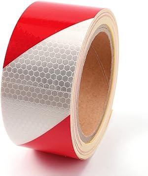 De alta Intensity DIY de duendes navide/ños con regalos de tira cinta de seguridad reflectante de peligro por presencia de vinilo