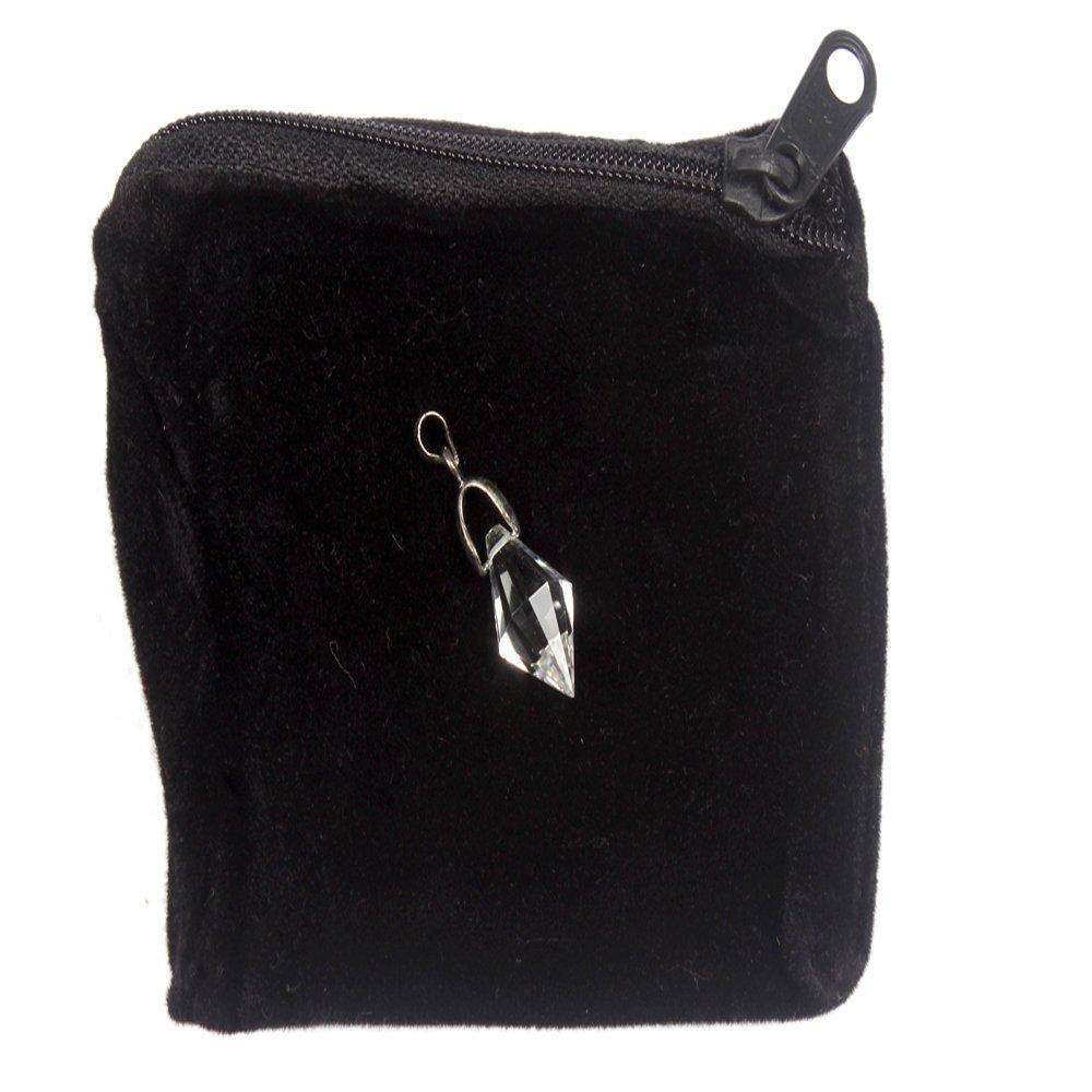 1 (One) Clear Quartz Herkimer Diamond Pendant