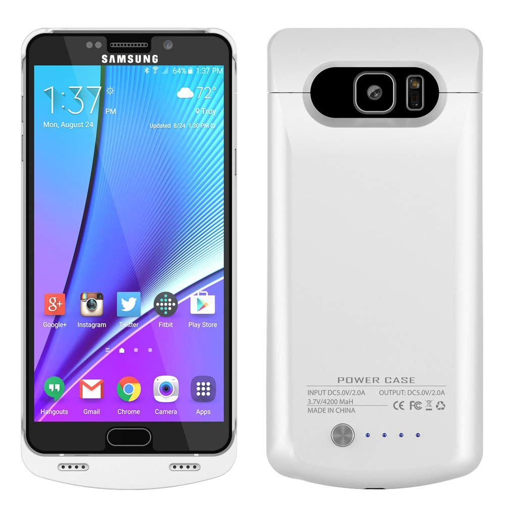 Funda Con Bateria de 4200mah para Samsung Galaxy Note 5 RUNSY [154L78NQ]