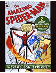 Stan Lee Amazing Spiderman #1 Signed/Autographed 8x10 Glossy Photo. Includes Fanexpo Certificate of Authenticity and Proof of signing. Entertainment Autograph Original.