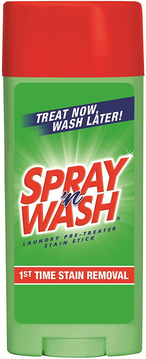 Spray 'n Wash Pre-Treat Laundry Stain Stick, 3 oz (Pack of 4)