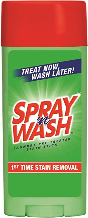 Spray 'n Wash Pre-Treat Laundry Stain Stick, 3 oz (Pack of 2)