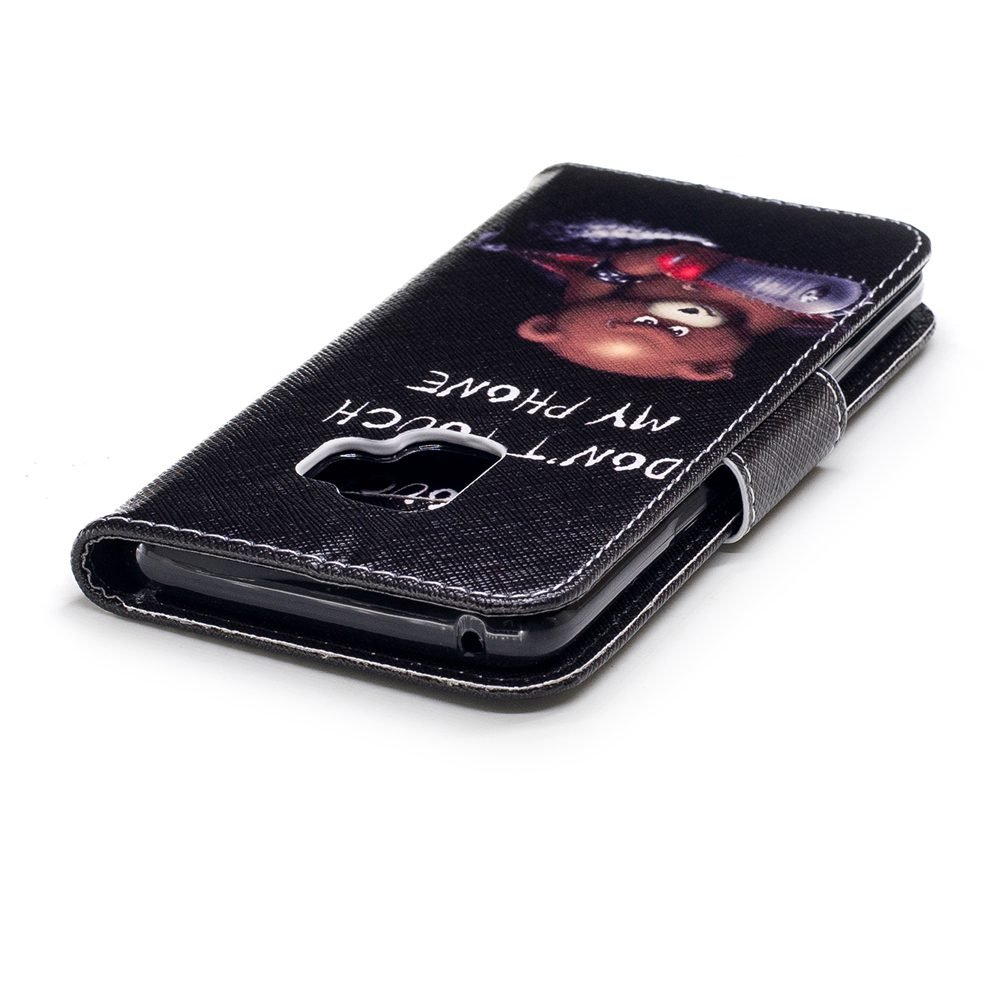 Wholesale 100pcs/lot Bear Butterfly Multi-patterns Flip Leather Case for Samsung Galaxy S9/S9 Plus/S8/S8 Plus/S7/S7E/S6/S5 etc (Multi-Color) by Vfunn (Image #6)