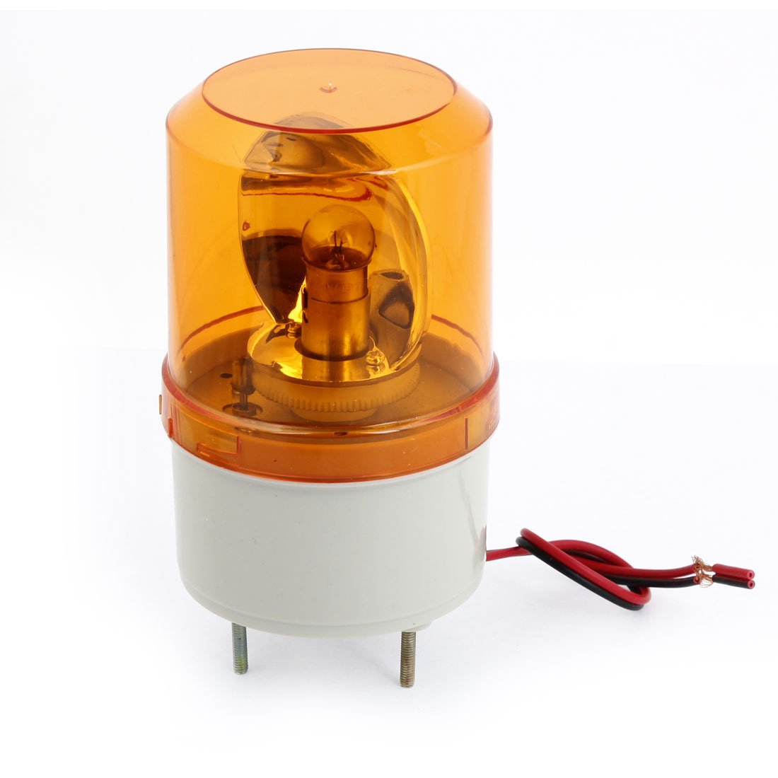 DC 24V 5W Flash Strobe Light Industrial Signal Warning Lamp Yellow