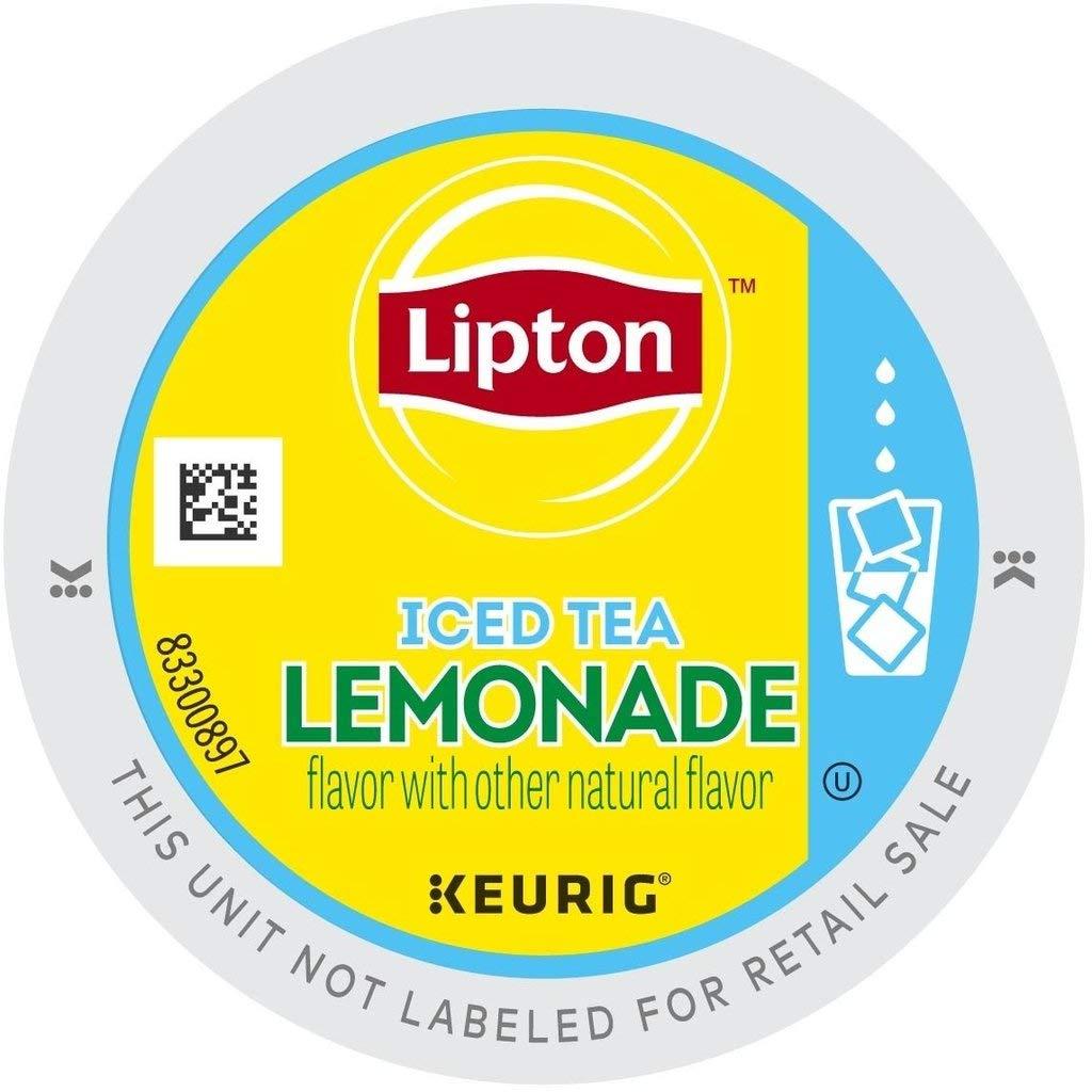 Lipton Iced Tea Lemonade 88 K Cup Portion Packs by Lipton