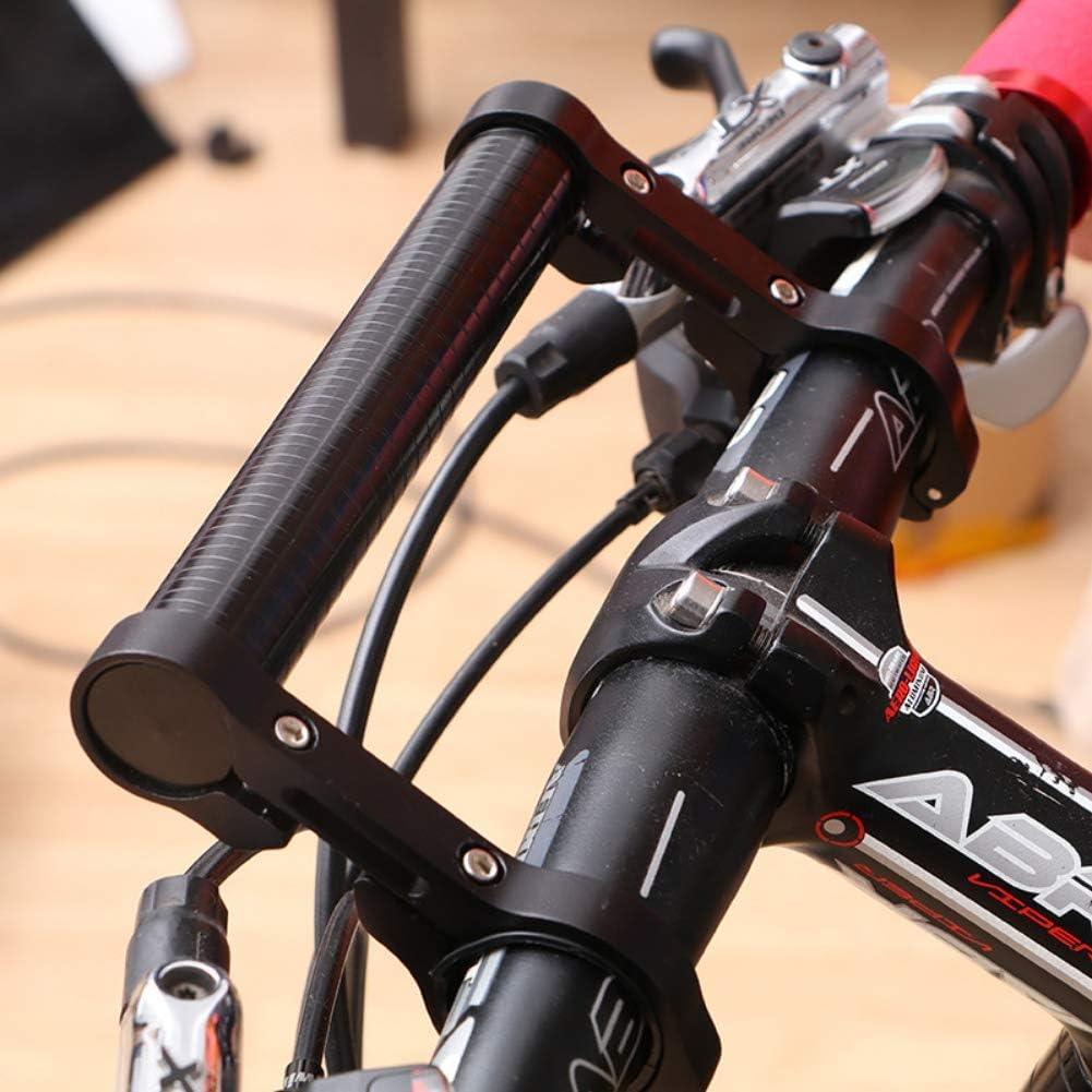 Mountain Bike Aluminum Alloy Extension Frame Leezo 15cm Cycling Handlebar Bike Flashlight Holder Handle Bar Bicycle Extender Mount Bracket Bike Accessories