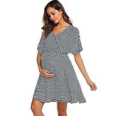 di modo attraente godere del prezzo di sconto presa di fabbrica VICGREY Camicia da Notte Vestiti Premaman Allattamento ...