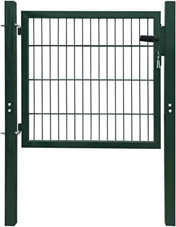 taofuzhuang Puerta de verja 2D (Sencilla) Verde 106 x 130 cmBricolaje Vallas de jardín Puertas de jardín: Amazon.es: Hogar