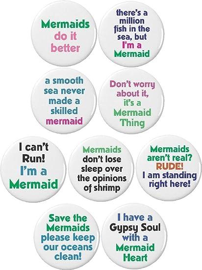 Amazon.com: Set 9 Mermaid Quotes 2.25\