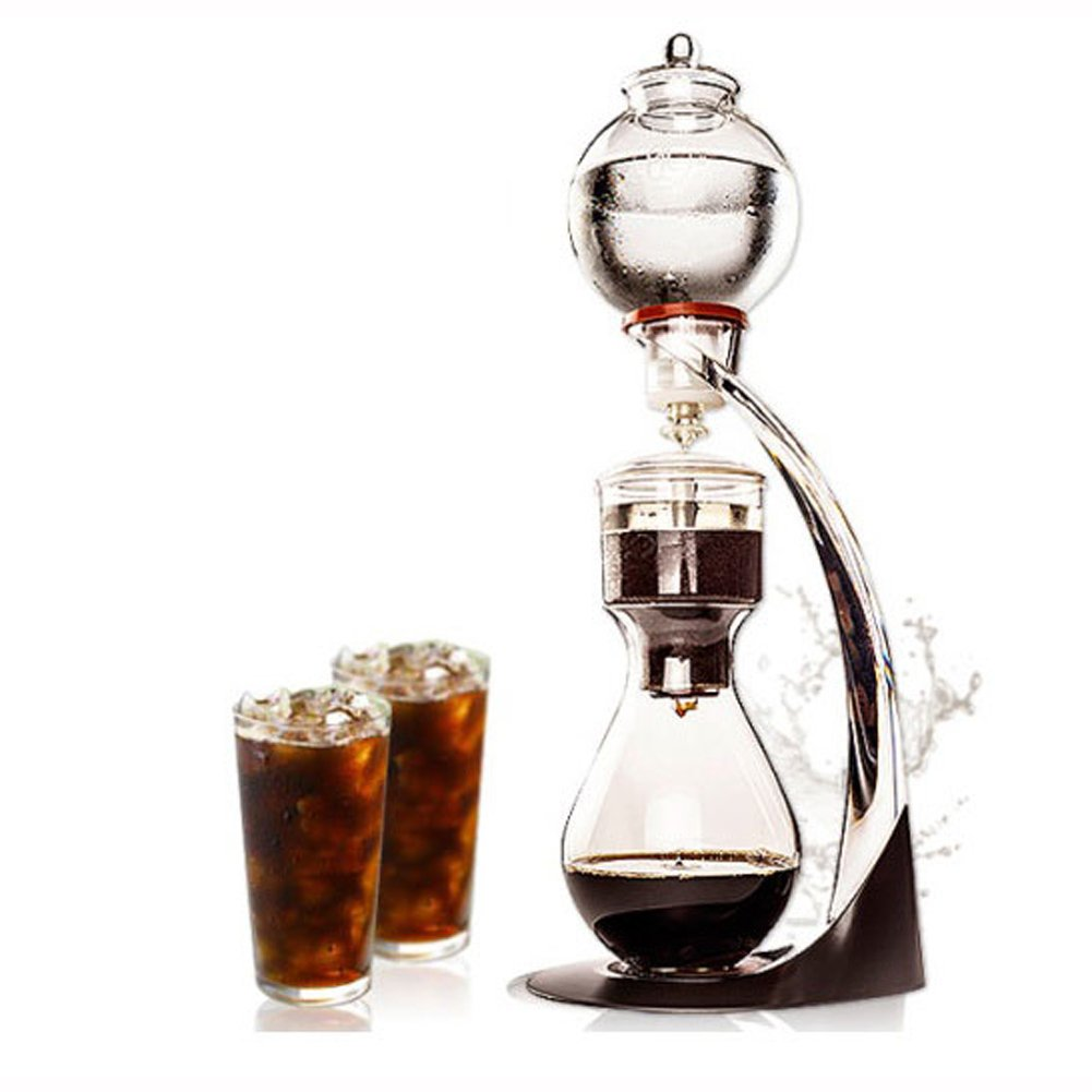 GTBeans Miracle 700 Cold Brew Dutch Coffee Maker Hand Drip SET 24 oz with Tamper filter