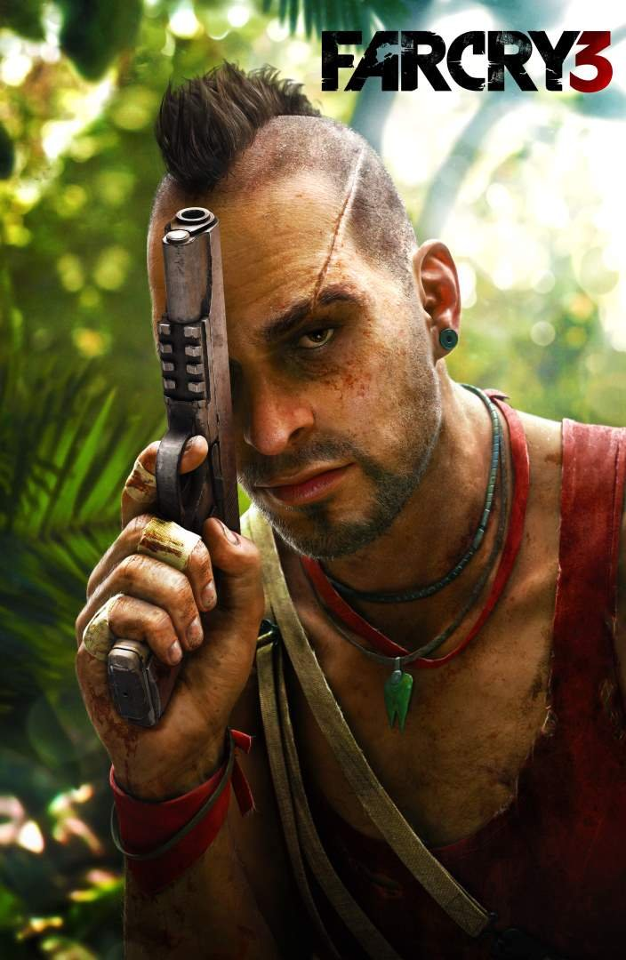 Far Cry 3 Vaas Game Poster For Office Schools Walls Doors Study Rooms Bedrooms Halls Inspirational Motivational Quotes Signs Sayings Actors Footballer Movie Singers Legends Superstars And Sports Players