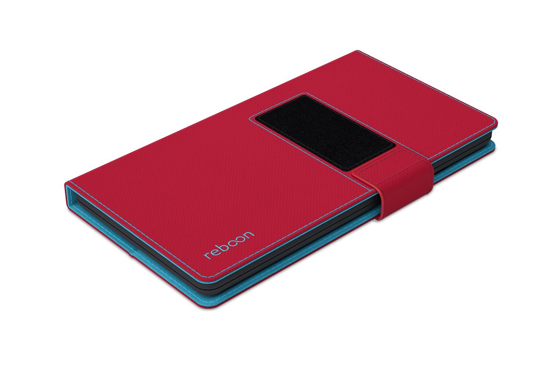 Schwarz Leder reboon H/ülle f/ür Wieppo S6 Tasche Cover Case Bumper Testsieger