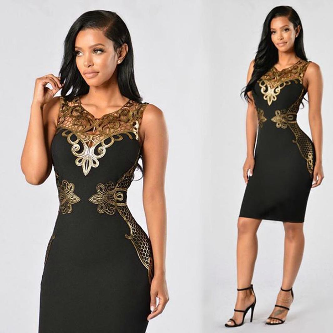638320e98f Amazon.com: Hot Sale ! New Fashion Women Lace Bodycon Dress Slim Sleeveless  Dress, Ninasill Beautiful Evening Party Cocktail Pencil Mini Dress (M, ...