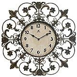 Infinity Instruments Fleur de Lis Wall Clock