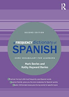 Amazon com: A Frequency Dictionary of Spanish: Core