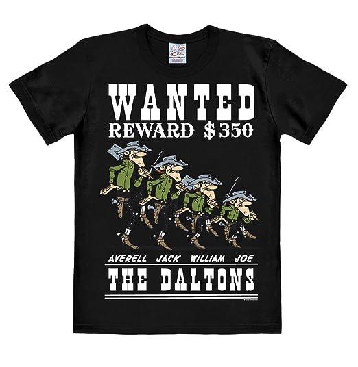 Logoshirt Lucky Luke - Les Frères Dalton T-Shirt Homme - Daltons - Wanted -  Noir - Design Original sous Licence  Amazon.fr  Vêtements et accessoires 9d616a5a0d8b