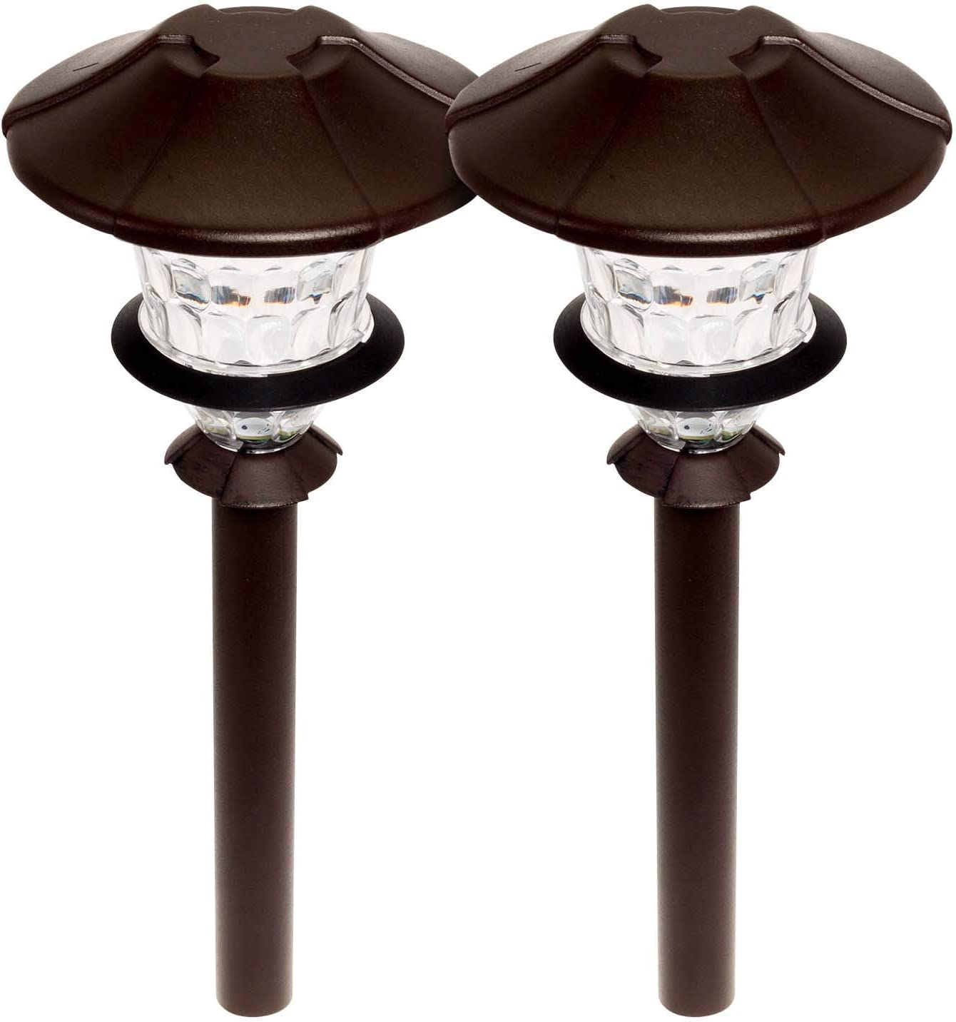 Paradise GL33869 Low Voltage LED 0.75W Path Light 2 Pack (Oil Rubbed Bronze)