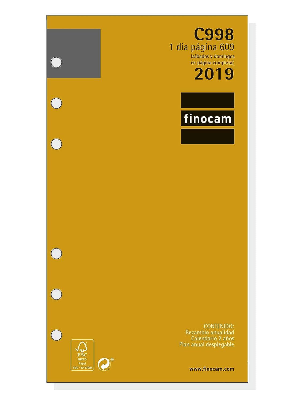 Amazon.com : Finocam 201330019 - Year Refill 2019 : Office ...