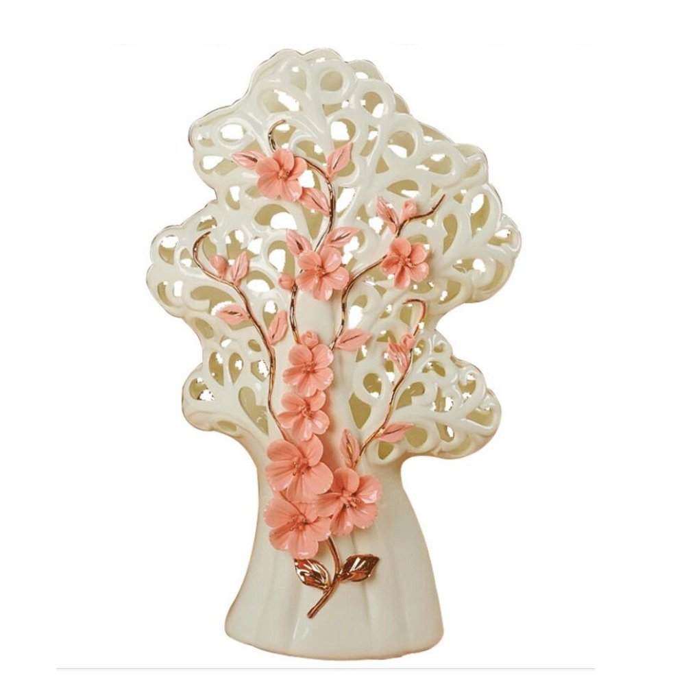 Ivory porcelain Fortune tree Home decoration New house decoration Wedding Gifts (Fortune tree)