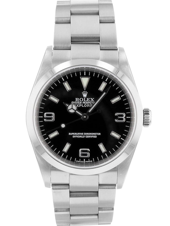 [ロレックス] 腕時計 ROLEX 114270 K番 エクスプローラーI SS 自動巻き メンズ [中古品] [並行輸入品] B07CZYPCLZ