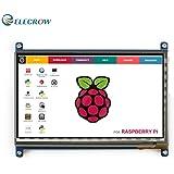 Elecrow7インチHDMI液晶ディスプレイ1024X600高解像度 Raspberry Pi B+/2B/3/Pcduino Banana Pi対応