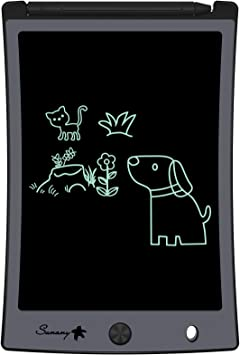 piokikio 8.5 inch Light Energy Childrens Writing Board Electronic LCD Painting Board Graphics Tablets