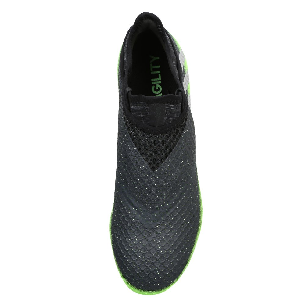 buy online 16c5f 591b1 adidas Messi 16+ Pureagility FG Techfit Socke Space Dust grün grau   Amazon.de  Schuhe   Handtaschen