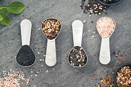Apace Living Coffee Scoop (Set of 2) - 2 Tablespoon (Tbsp) - The Best Stainless Steel Measuring Spoons for Coffee, Tea, and More by Apace Living (Image #6)