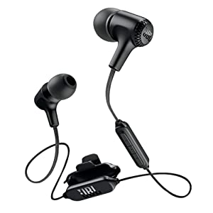 JBL Live 25BT in-Ear Wireless Headphone with 8-Hours Battery Life, Multi-Point Connectivity and Voice Assistant Integration (Black)