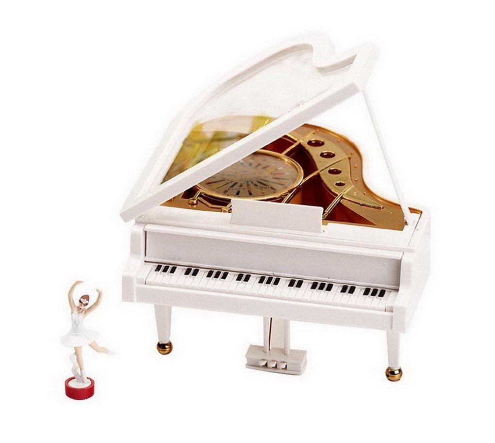 割引クーポン LaputaピアノDancing Girls回転音楽ボックスヴィンテージMechanical Classical LovelyバレリーナガールOctave Musicalボックス Musicalボックス B01IHAR25K B01IHAR25K, シルバーアクセサリー夢ロード:5280b40a --- egreensolutions.ca
