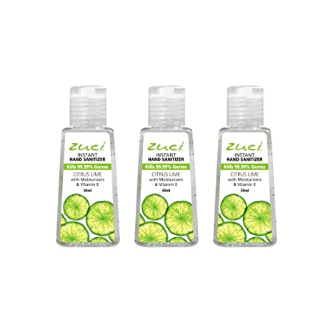 Buy Zuci Citrus Hand Sanitizer Pack Of 3 Online At Low Prices In