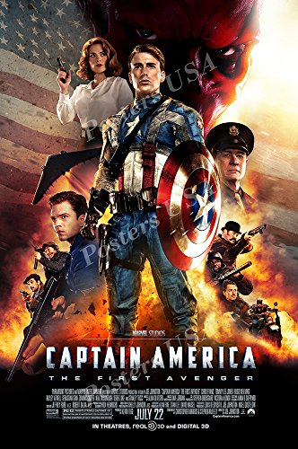 Posters USA - Marvel Captain America The First Avenger Movie Poster GLOSSY FINISH - FIL264 (24