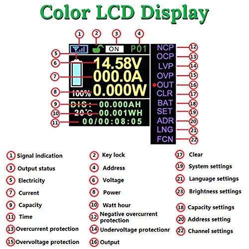 353b863ae8 VANJING 100V 30A DC Multifunctional Wireless Bi-Directional Voltage ...