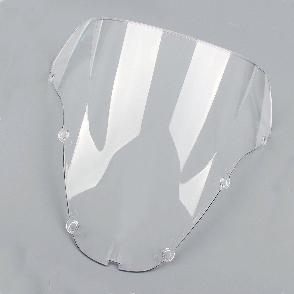Moto Pare-Brise é cran ABS Shield pour Honda CBR929RR CBR900RR 2000-2001 (Noir) WS0013