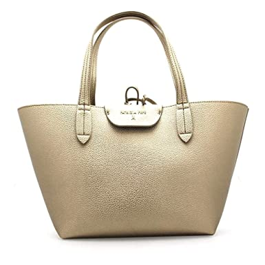 f802e7fc3a Amazon.com: PATRIZIA PEPE Bag Female Tote Gold/Taupe Reversible -  2V5516-AV63-I2VA: Clothing