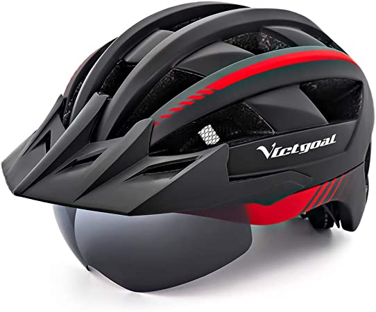 Goggles Replacement Lens Cycling Helmet Eye Shield Bicycle Magnetic Goggle Len
