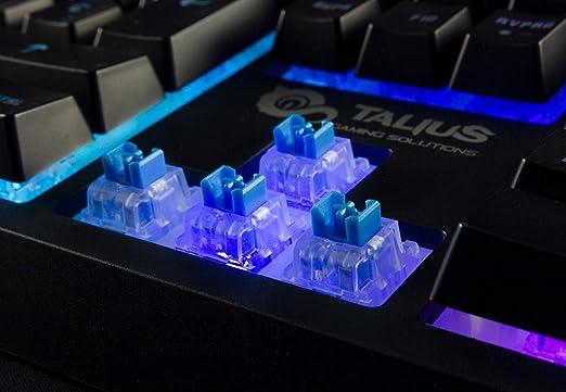 Talius Teclado híbrido mecánico Gaming Lazarus RGB