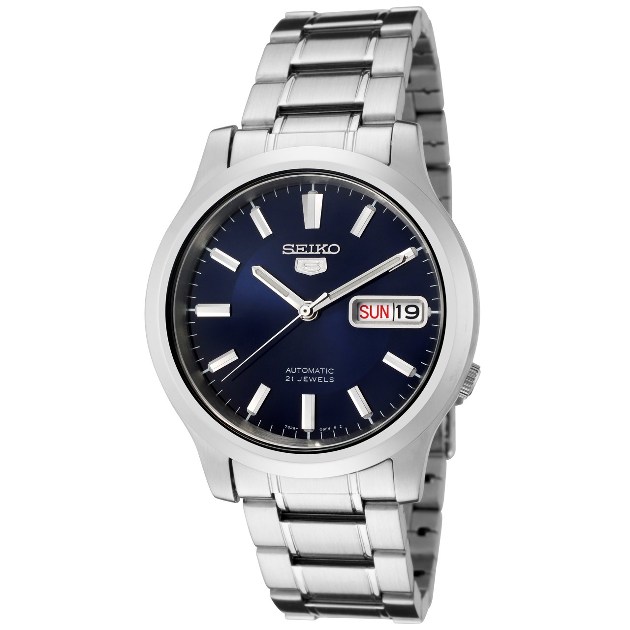 Seiko Men's Snk793 K Automatic Stainless Steel Watch by Seiko