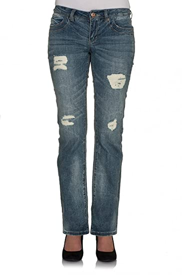 5076fd8fd3d57 Only - Jeans - Femme Bleu Bleu Moyen Denim - Bleu - W25  Amazon.fr ...