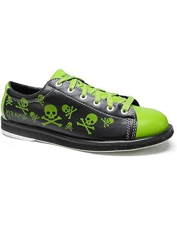 ca7620a9e0ef32 Pyramid Men s Skull Green Black Bowling Shoes