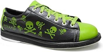 e7ad992152 Pyramid Men s Skull Green Black Bowling Shoes