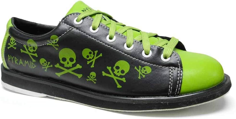 Skull Green/Black Bowling Shoes