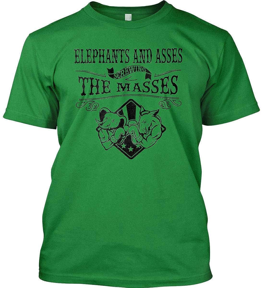Elephants and assess screwing The Masses Gildan T-Shirt