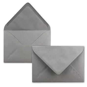 120 g//m/² Gru/ß-Karten Nassklebung mit spitzer Klappe 100x Briefumschl/äge B6 17,5 x 12,5 cm Einladungen F/ür Hochzeit Mintgr/ün