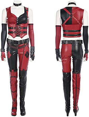 MuYuan Batman Forrest Knight Harley Quinn Disfraz de Cosplay Tight ...