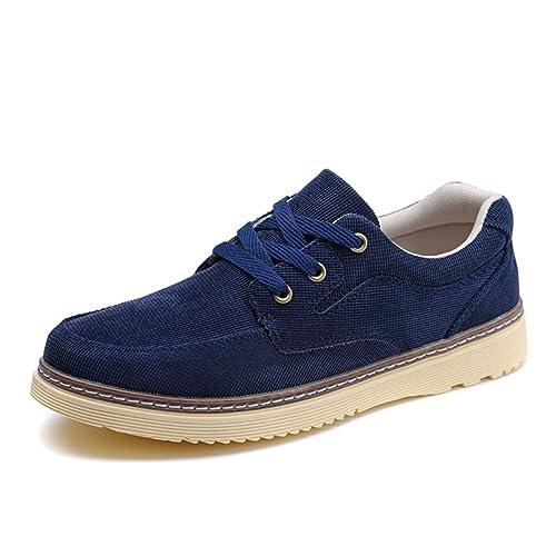 Zapatos de Lona de Verano para Hombres/Zapatos del Tablero/Zapatos de Tela/ Zapatos Casuales Transpirables/Zapatos de Corte bajo: Amazon.es: Zapatos y ...