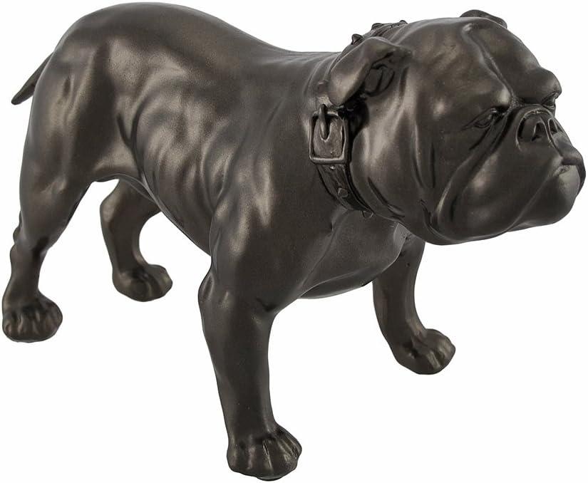 Bronzed English Bulldog Ornament Dog Figurine Gift Present